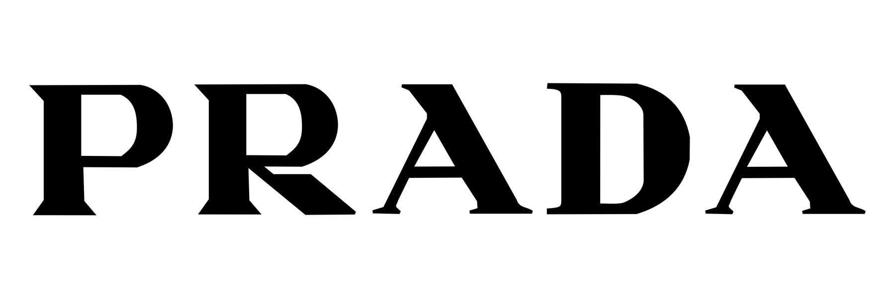 Color prada logo
