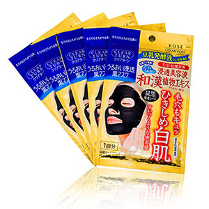 Kosé Cosmeport Clear Turn Black Mask