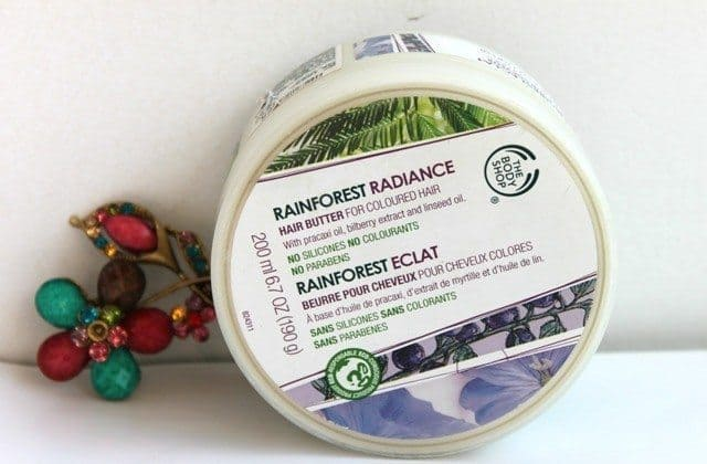 The body shop rainforest radiance hair butter for colored hair 7