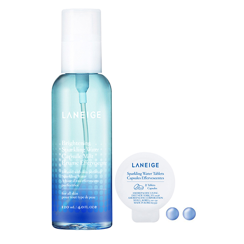 Product brightening sparkling water capsule mist 02