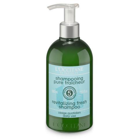 Dau goi loccitane aromachologie revitalizing fresh shampoo 500ml large