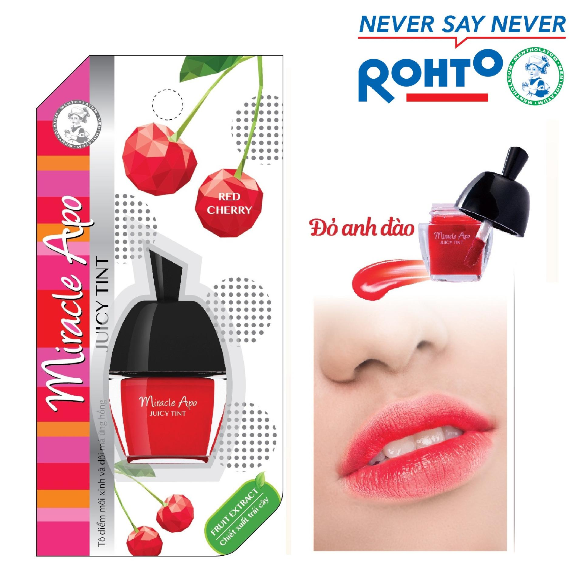 Son nuoc miracle apo juicy tint red cherry 35g do anh dao 1509075005 4592862