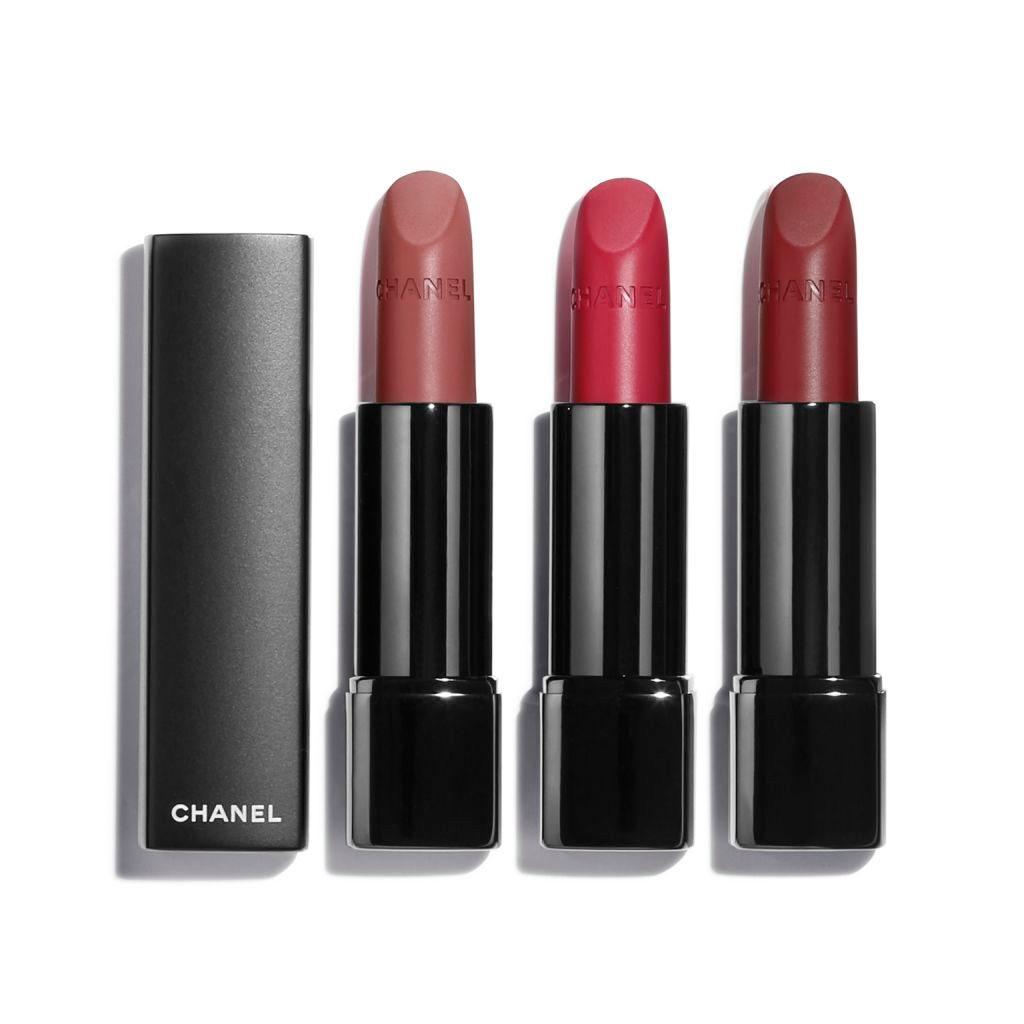 Rouge allure velvet extreme set intense matte lip colour.p149300