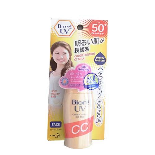 Biore cc uv color milk 30g nen dep xinh