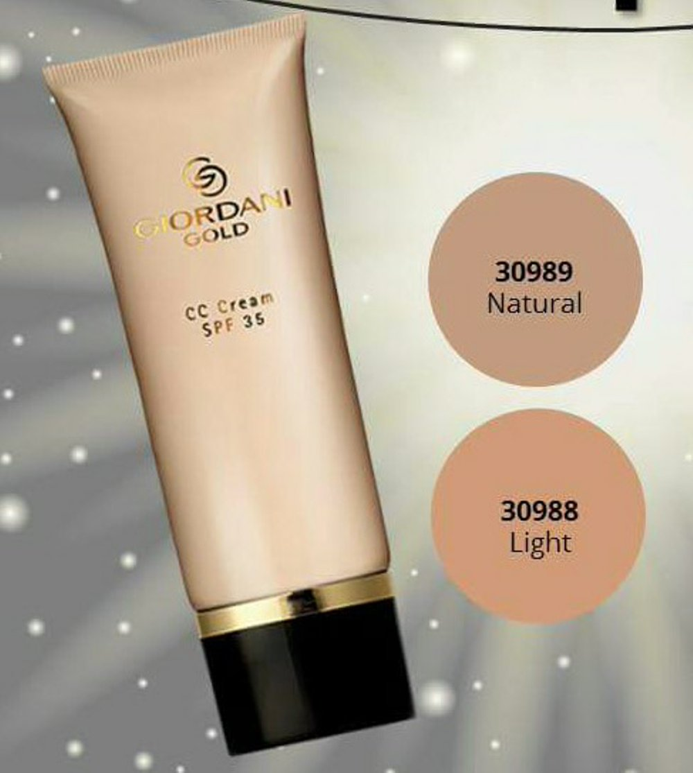 Giordani gold cc cream
