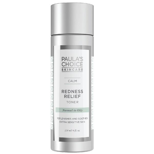 Calm redness relief toner oily skin