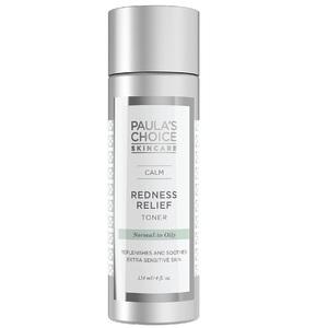 Medium calm redness relief toner oily skin