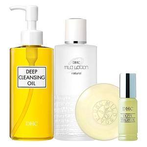 Bộ Olive chăm sóc da DHC Olive Skin Care Set