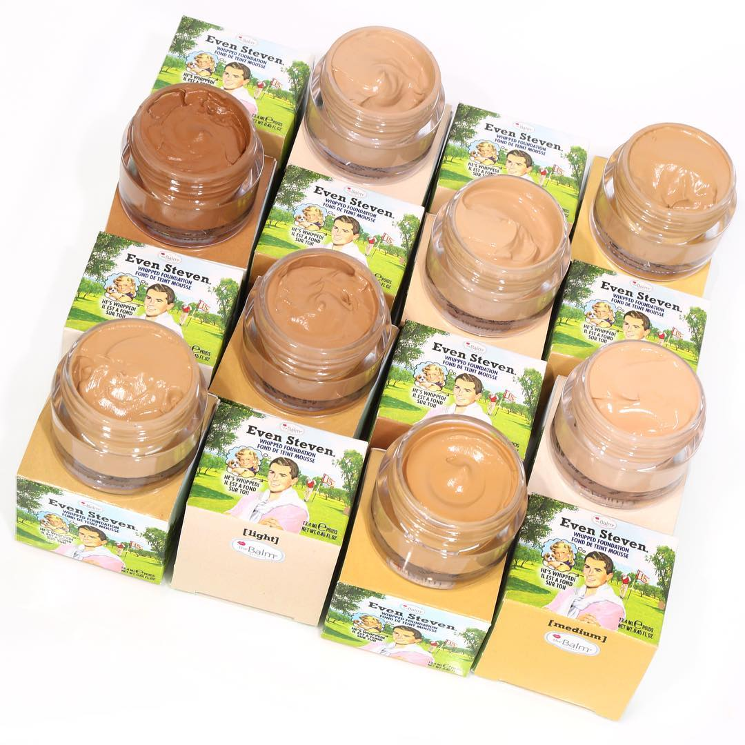 PHẤN NỀN THE BALM EVEN STEVEN WHIPPED FOUNDATION