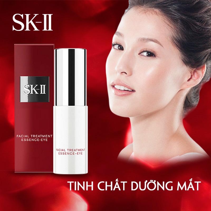 Serum duong da vung mat sk ii facial treatment essence eye 15ml