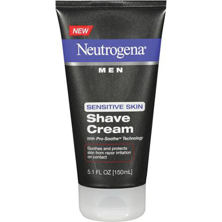 Kem cao rau neutrogena men sensitive skin shave cream 150ml