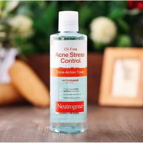 Nước hoa hồng Neutrogena Oil Free Acne Stress Control