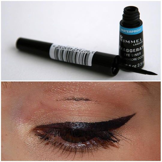Rimmel London Exaggerate Waterproof Liquid Eyeliner