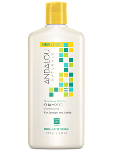 Medium brilliant shine sunflower citrus shampoo