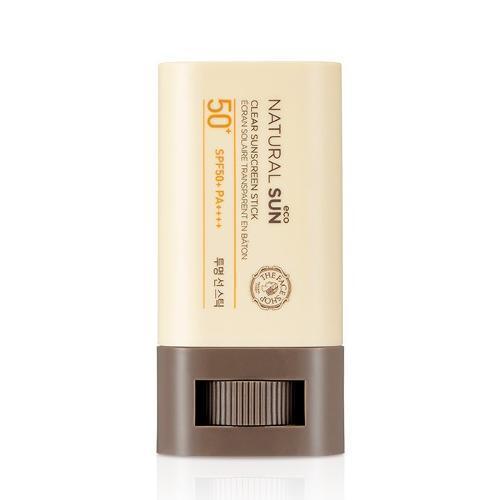 The face shop the face shop natural sun eco clear sunscreen stick spf50 pa sunscreen kollectionk 5487385051187 2000x
