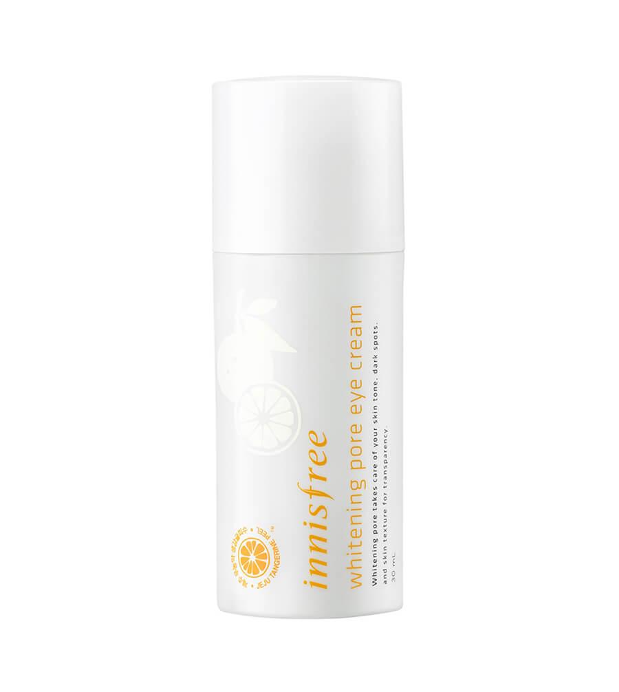Kem duong vung mat innisfree whitening pore eye cream beauty garden