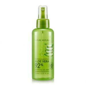 Xịt khoáng Nature Republic Soothing & Moisture Aloe Vera 92%