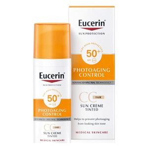 Medium kem chong nang eucerin co mau spf50 50mlr