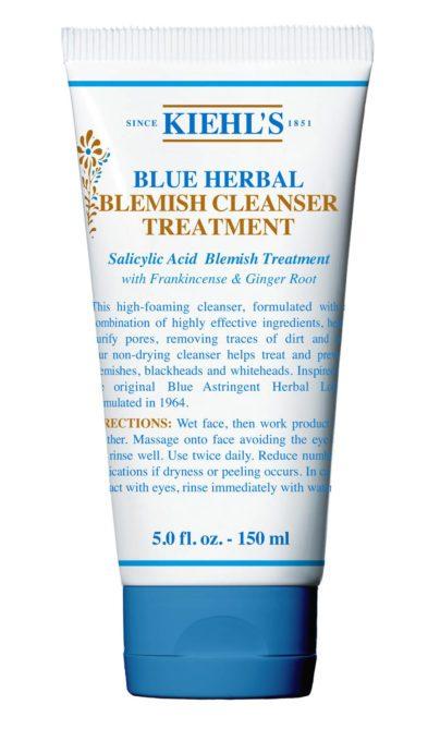 Sua rua mat kiehls blue herbal cleanser 150ml