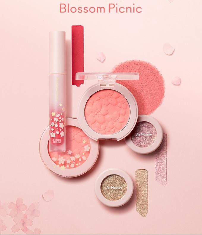 Etude house blossom picnic matte chic lip lacquer 1
