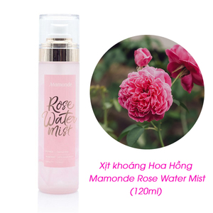 Xịt Khoáng Hoa Hồng Mamonde Rose Water Mist (120ml)